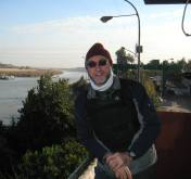 Perimeter Guard's Watchtower overlooking River Tigris (2006)