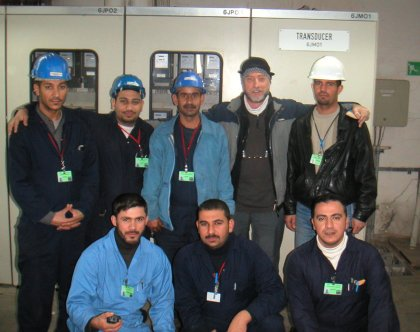 My Power Station Commissioning Team, Baghdad (2006)