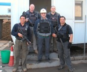 My Lethal Security Team -- Power Station project, Baghdad (2006)